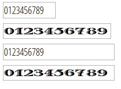 width vs size